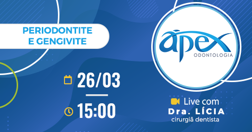 Live: Periodontite e Gengivite – Dr. Lícia